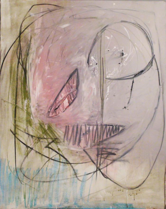 acrylics on canvas 80x100cm